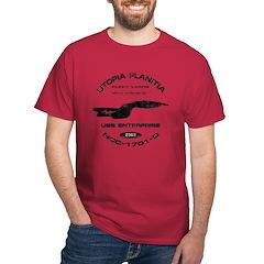 Enterprise-D (worn look) T-Shirt