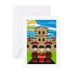 Cute Roman Soldier Card