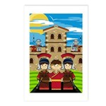 Cute Roman Soldier Postcard (Pk of 8)