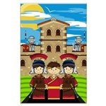 Cute Roman Soldier Poster (Large)