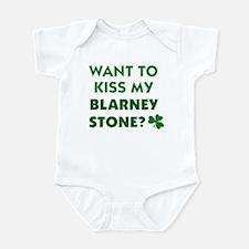 Want to Kiss My Blarney Stone Infant Bodysuit