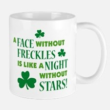 A face without freckles is li Mug