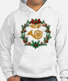 Christmas French Horn Hoodie