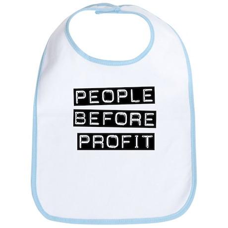 People Before Profit Bib
