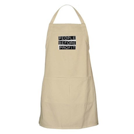 People Before Profit BBQ Apron