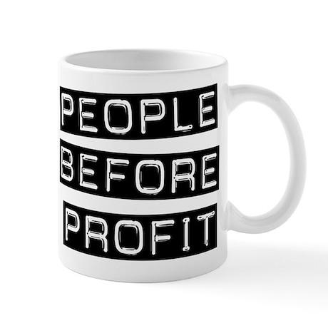 People Before Profit Mug