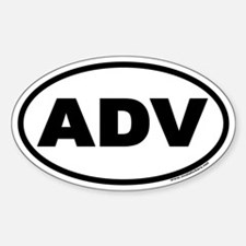 ADV Euro Oval Decal