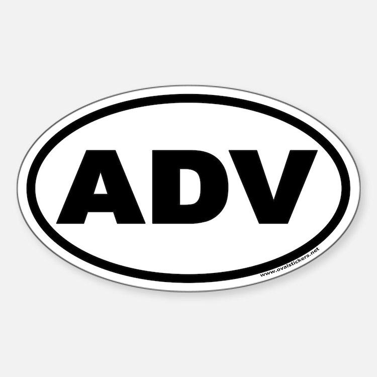 ADV Euro Oval Decal