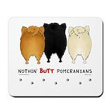 Pomeranian Mouse Pads