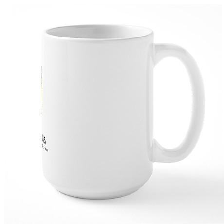 Nothing Butt Pomeranians Large Mug