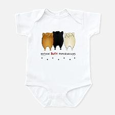 Nothing Butt Pomeranians Infant Bodysuit