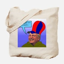 duck cheney Tote Bag