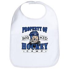 Big Kid Hockey Blue Bib