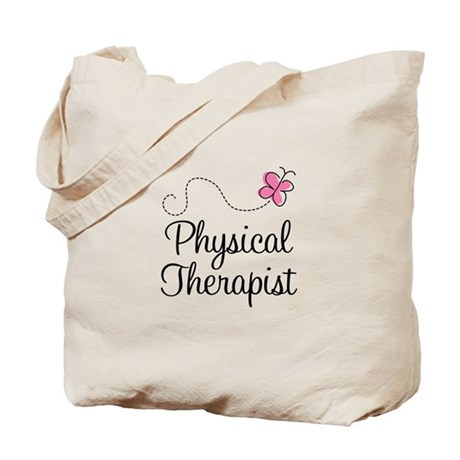 Cute Physical Therapist Tote Bag