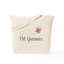 Cute Pet Groomer Tote Bag