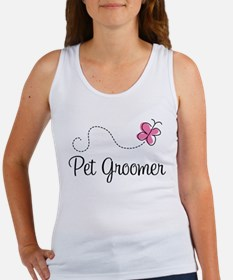 Cute Pet Groomer Women's Tank Top