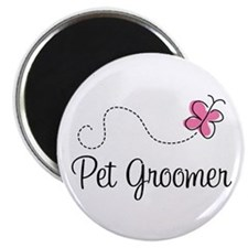 Cute Pet Groomer Magnet