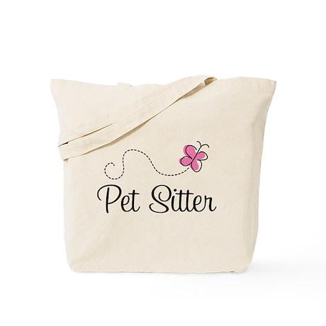 Cute Pet Sitter Tote Bag