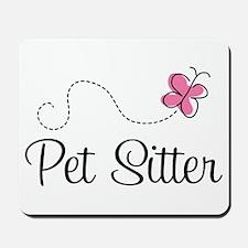 Cute Pet Sitter Mousepad