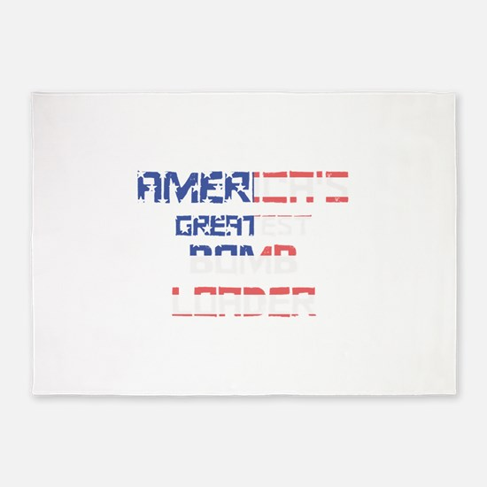 America's Greatest Bomb Loader 5'x7'Area Rug