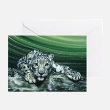 Snow Leopard Greeting Cards (Pk of 20)