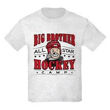 Big Brother Hockey Red T-Shirt