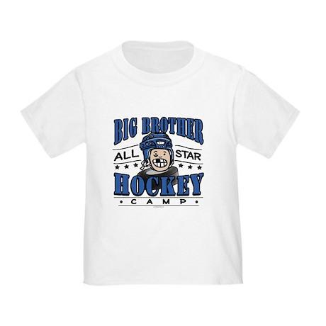 Big Brother Hockey Blue Toddler T-Shirt