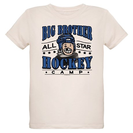 Big Brother Hockey 2 Sided Organic Kids T-Shirt