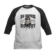 Big Brother Hockey Black Tee