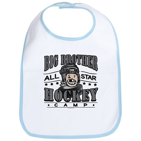 Big Brother Hockey Black Bib