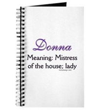 Personalized Name Meanings Journal