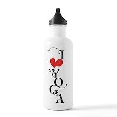 I heart YOGA Water Bottle