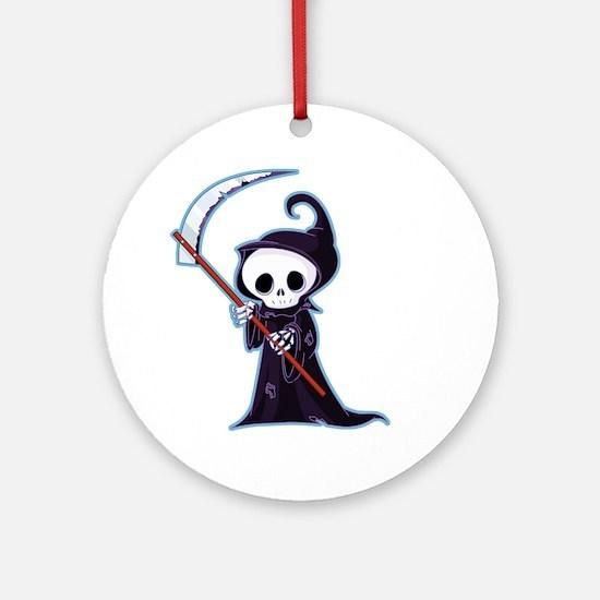 Sweet Little Death Ornament (Round)
