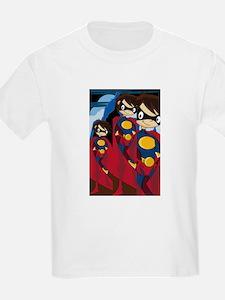 Cute Superhero Kids T-Shirt