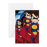 Cute Superhero Card (Pk of 10)