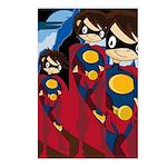 Cute Superhero Postcard (Pk of 8)