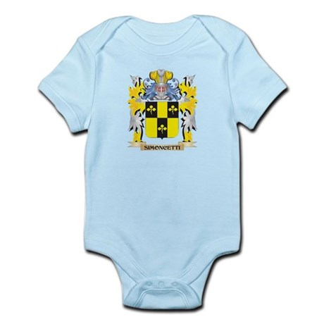 Simoncetti Family Crest - Coat of Arms Body Suit