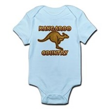 Kangaroo Country Logo Infant Bodysuit