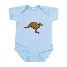 Kangaroo Logo Infant Bodysuit