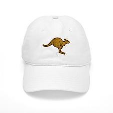 Kangaroo Logo Baseball Cap