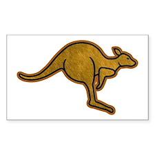 Kangaroo Logo Stickers