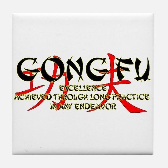Gong Fu Tile Coaster