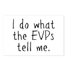 EVPs Postcards (Package of 8)