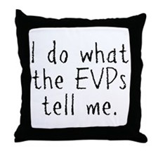 EVPs Throw Pillow