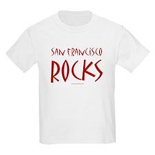 SF Rocks - Kids T-Shirt