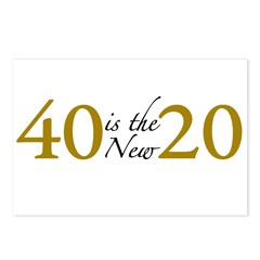 40 is the new 20 (Cougar) Postcards (Package of 8)