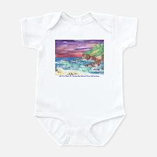 John Muir Beach, CA Monterey Infant Bodysuit