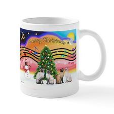 X-Music2-Four Siamese Small Mug