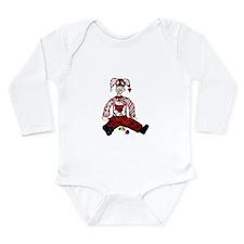 Clown Long Sleeve Infant Bodysuit