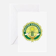 Master Gardener Seal Greeting Cards (Pk of 10)